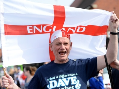 Patriots from across the West Midlands celebrate St George's Day