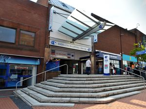 The Saddlers Centre in Walsall town centre