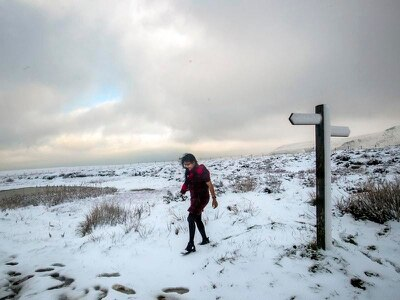In Pictures: Pennines blanketed in snow