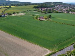 DUDLEY COPYRIGHT EXPRESS&STAR TIM THURSFIELD-17/05/20.Aerial pic for future use of green belt land at Foxcote Farm, Stourbridge, where 1,500 houses are planned..A decision is due in the summer regarding the proposals...https://www.expressandstar.com/news/local-hubs/dudley/2019/10/10/campaigners-vow-to-fight-green-belt-homes-plans/.