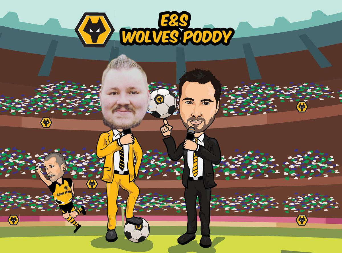 Wolves poddy with Mikey Burrows