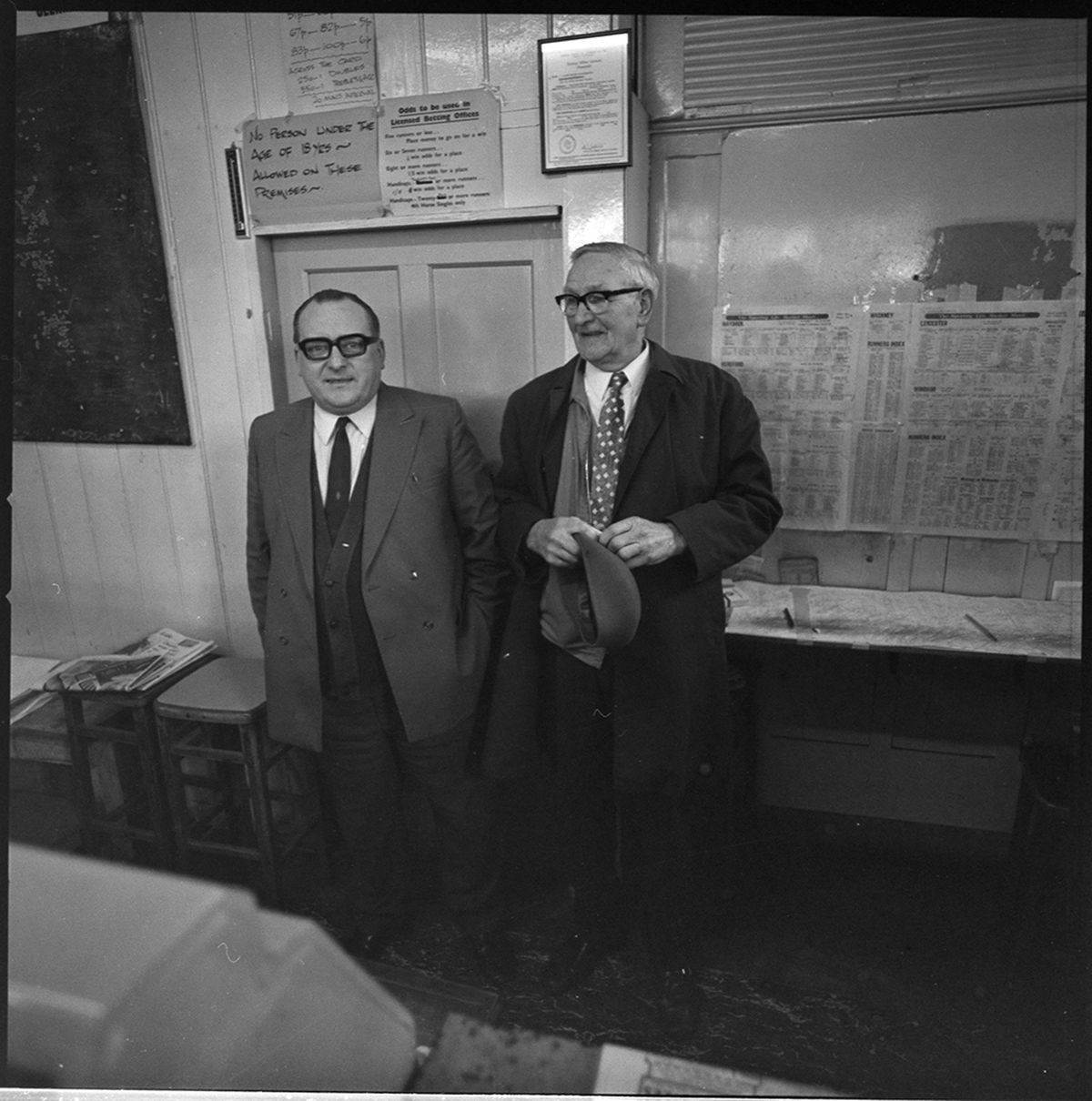 Inside Jack Smith's bookies – who are these two men?