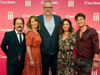 Greg Davies and other stars of BBC Three's Cuckoo in Lichfield premiere - in pictures