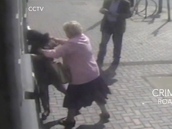 WATCH: Doreen, 81, fights off cashpoint mugger on Black Country high street