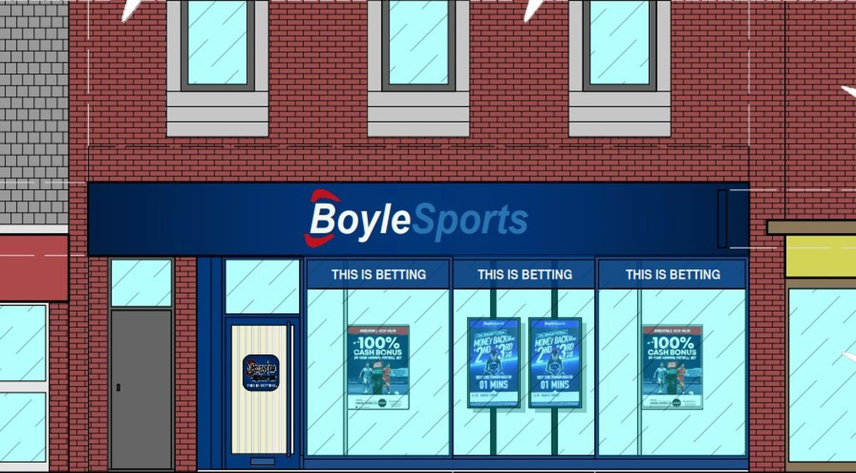How the Boyle shop could look if approved. Photo: Boyle Sports