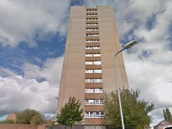 Residents evacuated after severe flood at Wolverhampton tower block