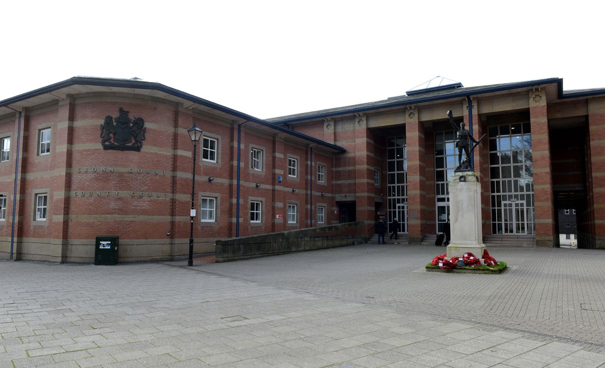 Stafford Crown Court, where the trial was held