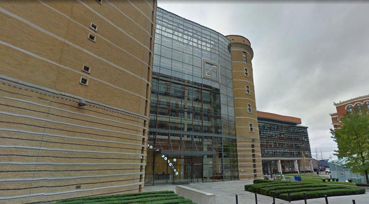 Deutche Bank's offices in Birmingham, where it employs around 1,500 people