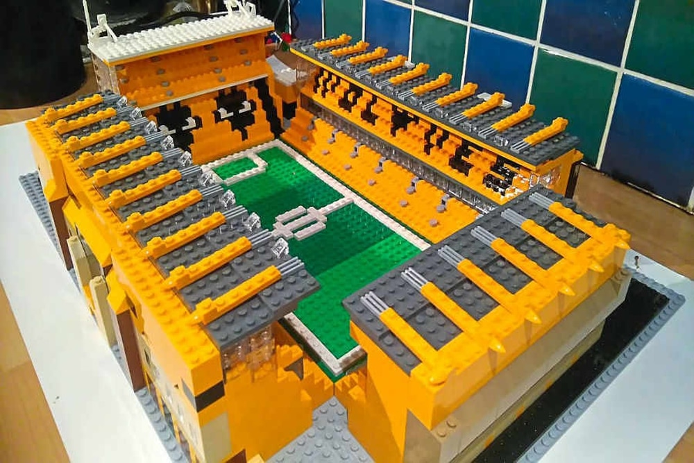10 hours and 1,400 pieces: Wolves' Molineux gets Lego treatment ...