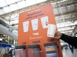 Coffee cup recycling bins to be rolled out at major stations