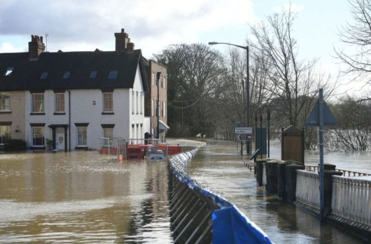 Flooding caused huge problems in Bewdley