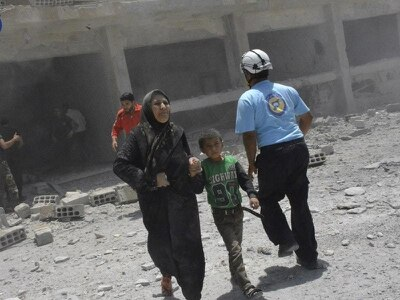 Israel evacuates White Helmets to Jordan from Syria border