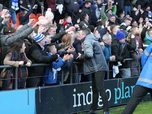 Halesowen Town are edging closer to a Wembley trip