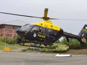 STAFFORD COPYRIGHT EXPRESS AND STAR STEVE LEATH 05/06/2016  Staffordshire Police Open Day in Stafford. Had very little time on the ground here so if we need more get in touch with there press office. Police Helicopter..