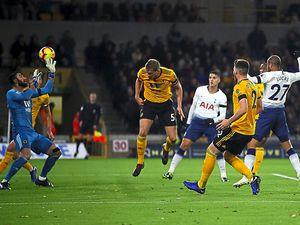 Wolves couldn't register a point against Spurs despite a spirited comeback.