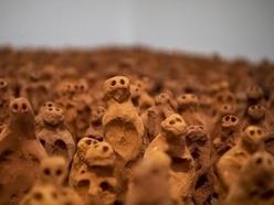 Antony Gormley's tiny terracotta figures 'a call to conscience'