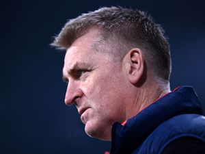 File photo dated 27-02-2021 of Aston Villa manager Dean Smith.