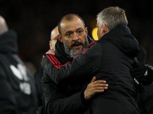 Nuno Espirito Santo the head coach / manager of Wolverhampton Wanderers and Ole Gunnar Solskjaer the head coach / manager of Manchester United
