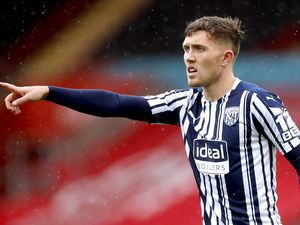 File photo dated 04-10-2020 of West Bromwich Albion's Dara O'Shea. Issue date: Friday April 9, 2021. PA Photo. West Brom boss Sam Allardyce is hopeful defender Dara O'Shea will shrug off an ankle injury as the Baggies look to continue their survival bid against Southampton on Monday. See PA story SOCCER West Brom Preview. Photo credit should read Matthew Childs/PA Wire..