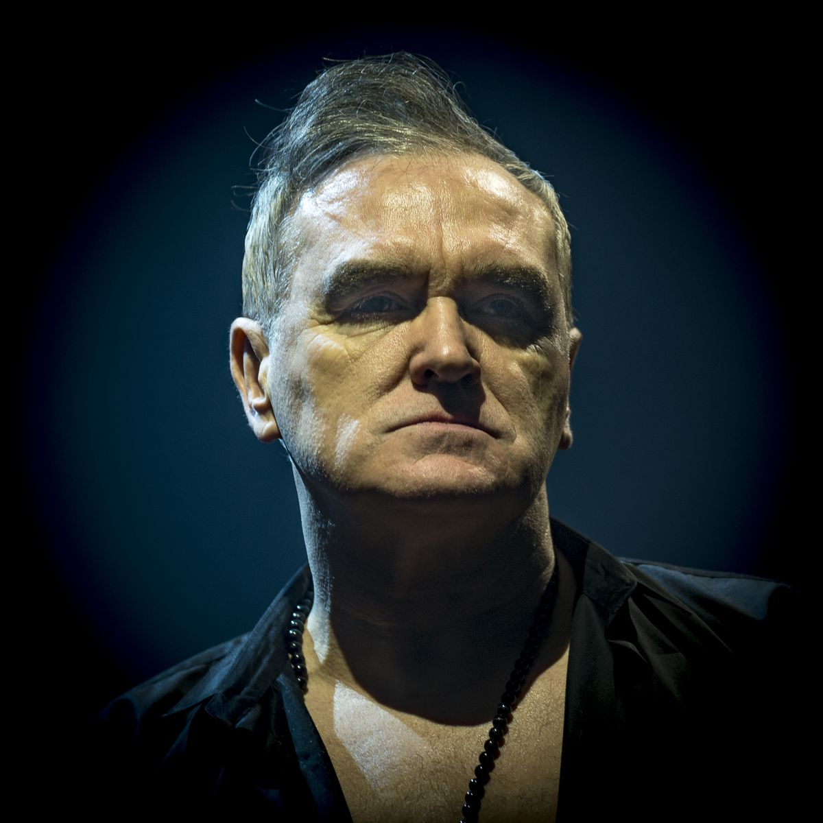 Morrissey. Pictures by: Dave Cox