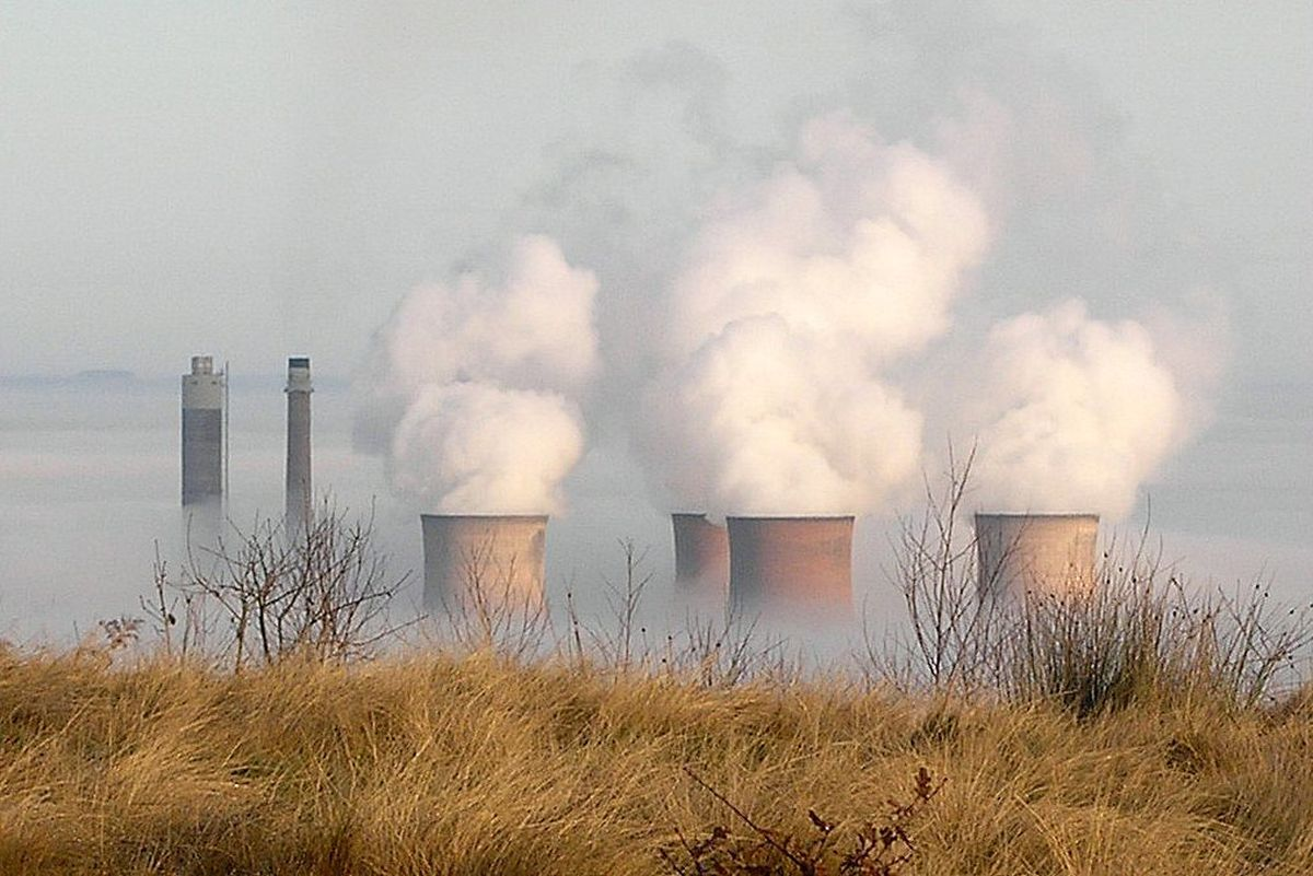 Rugeley Power Station's cooling towers