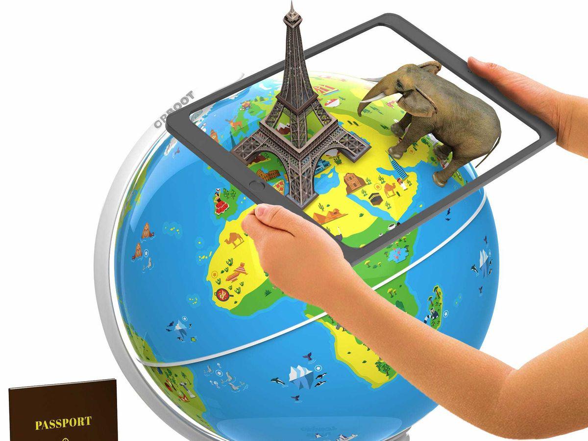The Educational AR Globe
