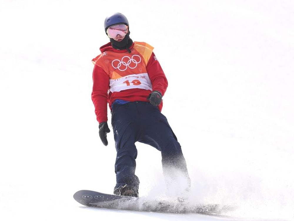 067a705a7aa5 Great Britain's Billy Morgan won snowboard big air bronze on Saturday  (Mike Egerton PA Images)