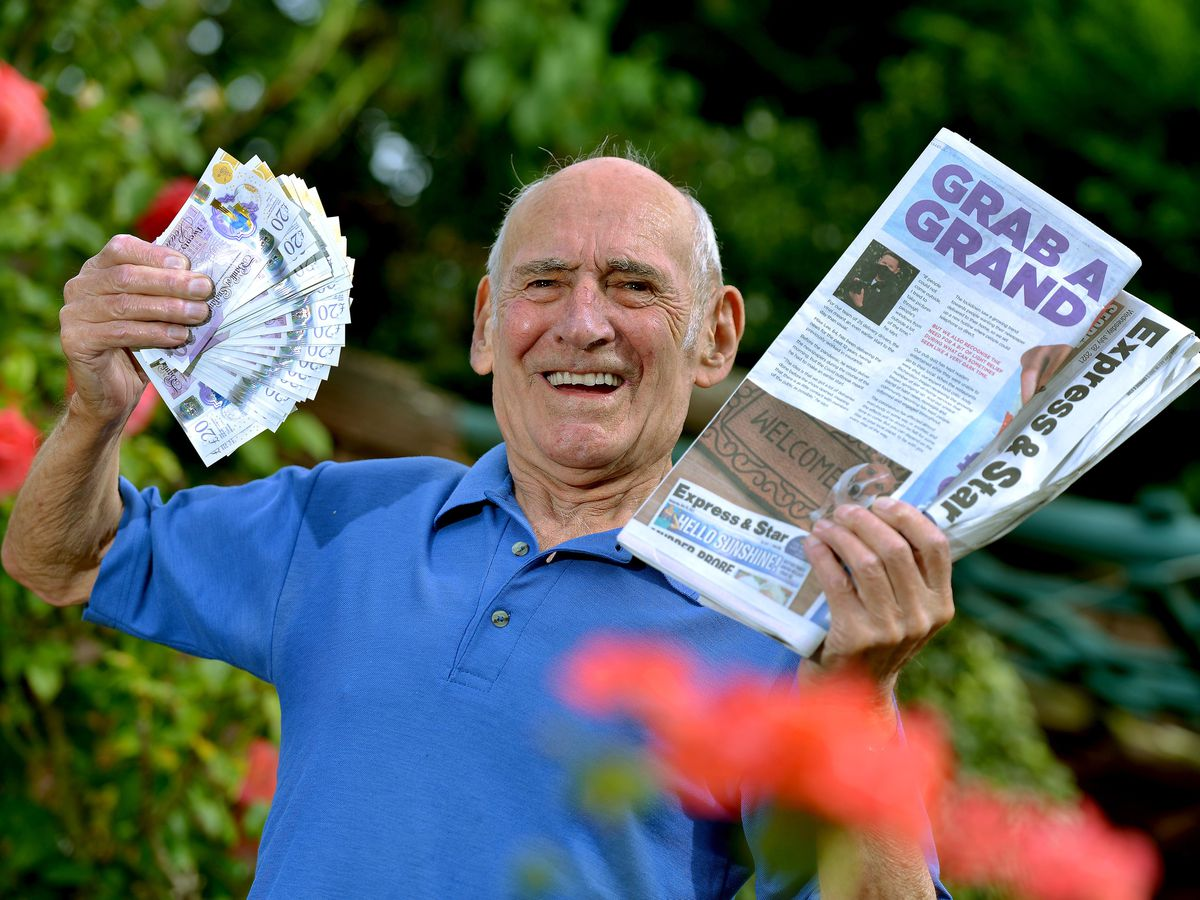 Brian Bates is our latest Gran a Grand winner