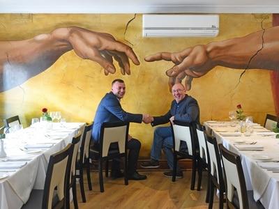 Diners get taste of art at Brierley Hill restaurant
