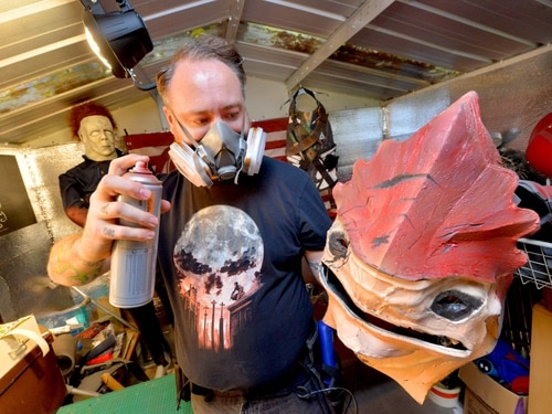 From Halloween to Fallout 4: Madeley costume designer brings fantasy characters to life