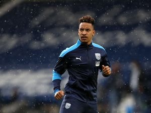 Matheus Pereira of West Bromwich Albion during the pre-match warm up.
