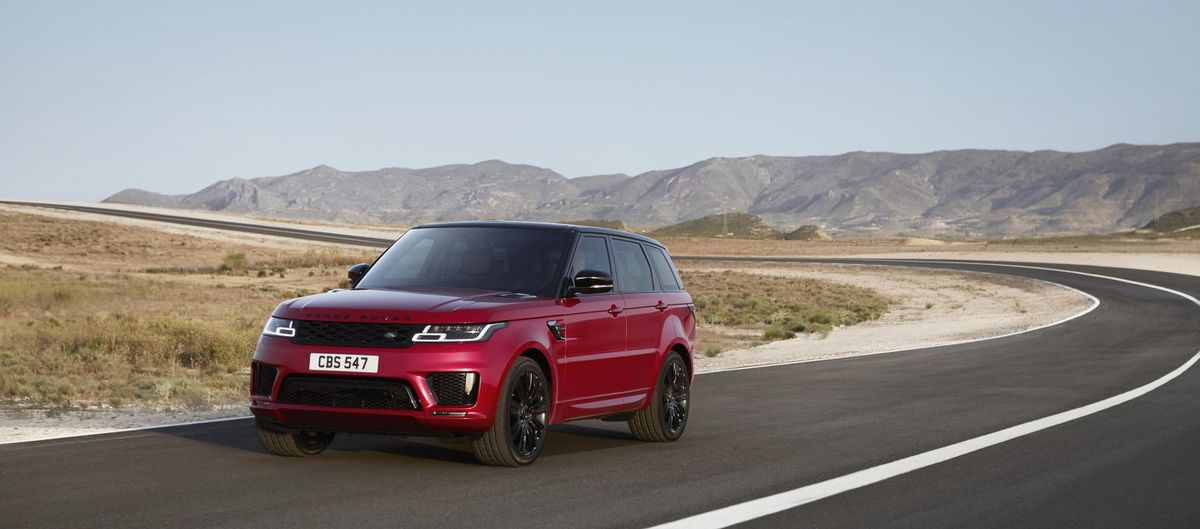The Range Rover Sport buoyed up sales for Land Rover in America in June