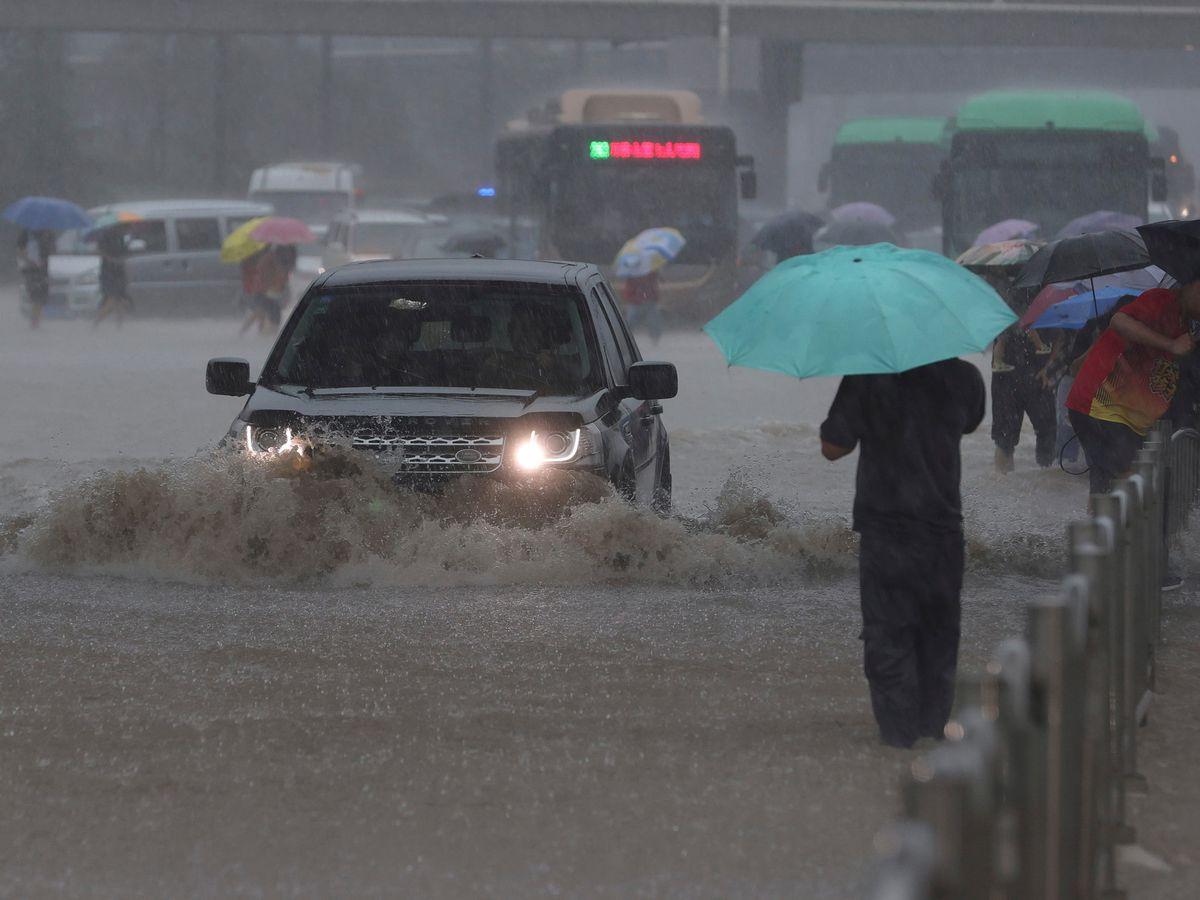 Flooding in Zhengzhou