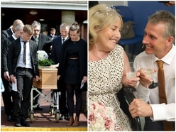Sad farewell to 'beautiful wife' Julie Elsmore days after New Cross Hospital wedding
