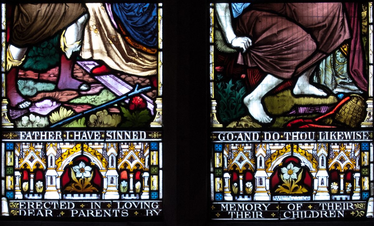 The Arley stained glass