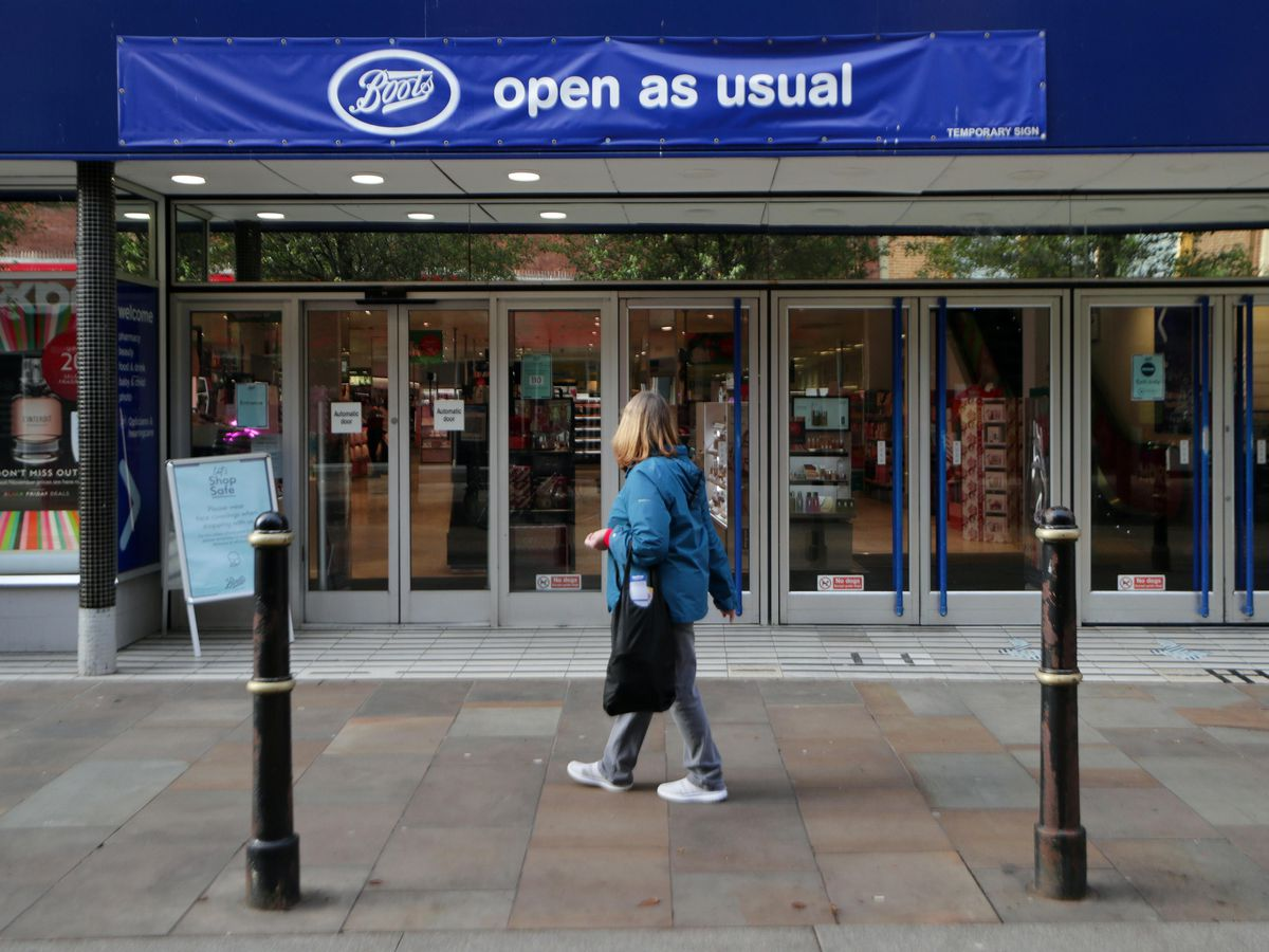 High streets have struggled during the lockdown