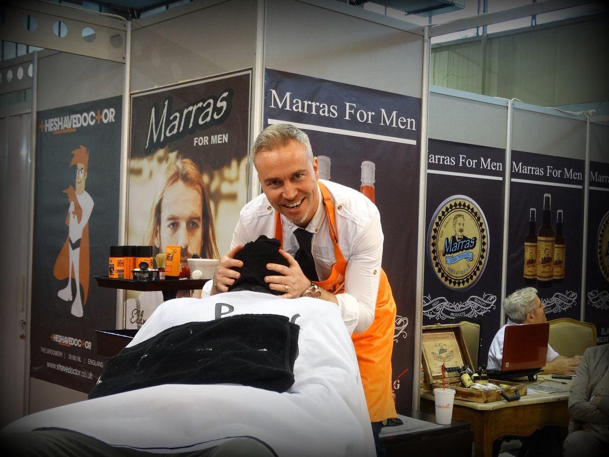 Mark Sproston aka The Shave Doctor