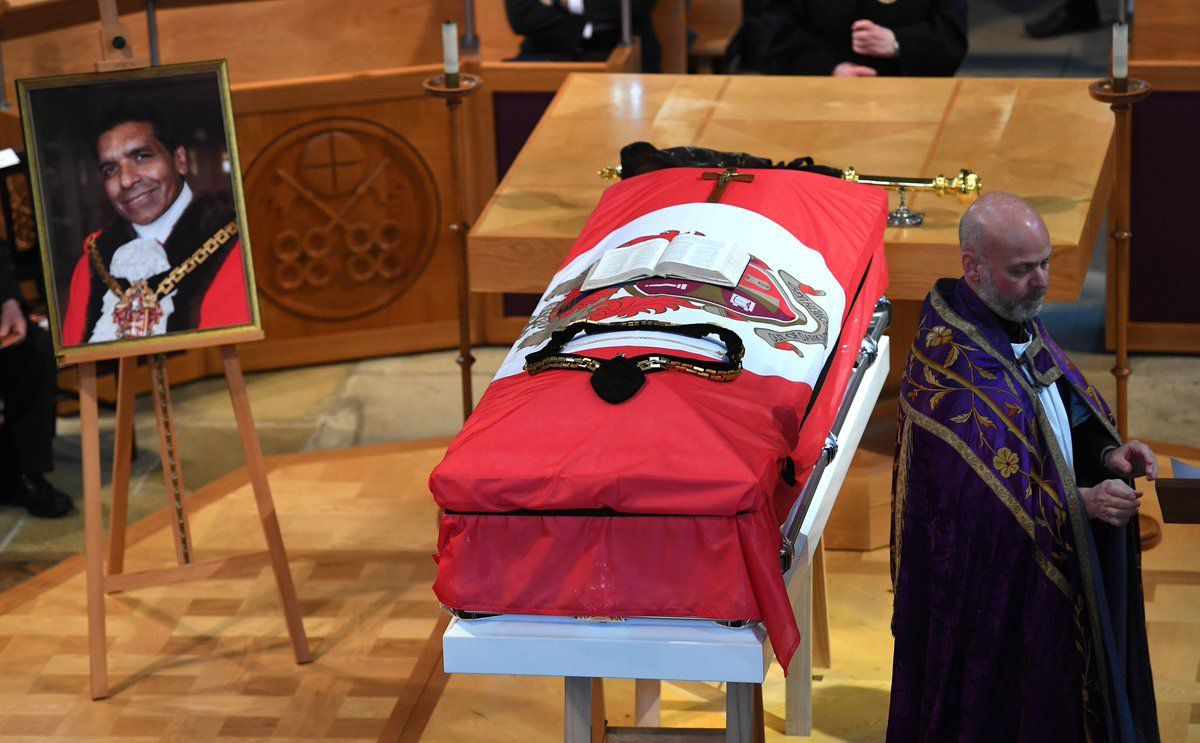 Elias Mattu's funeral. Credit: @WolvesCouncil