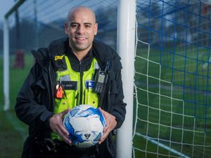 Pc Stuart Ward has become the first designated football hate crime officer in the country (image by West Midlands Police)