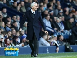 Pressure on West Brom's Alan Pardew – just 84 days in