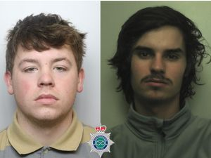 Jamie Brunton and Kier Carter have been jailed for a total of 17 years. Photo: Staffordshire Police