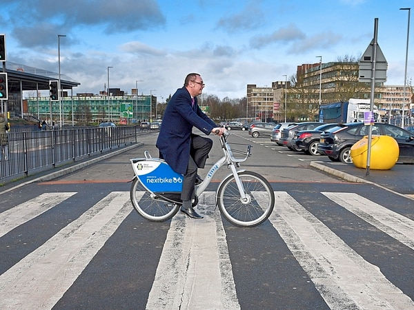 How to rent a bike and hit the streets of Wolverhampton