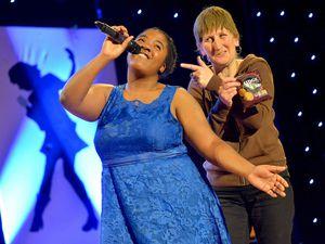 Winner Latoyah with Doreen Tipton