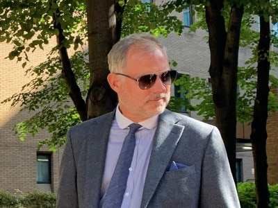 Ex-Blue Peter presenter John Leslie appears in court accused of sexual assault