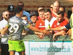 Walsall v Peterborough: Josh Gordon is refusing to give up the fight