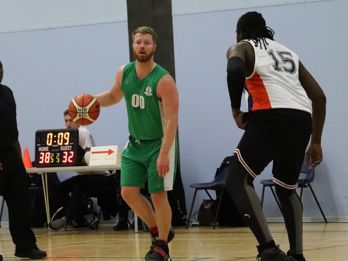 West Brom Basketball Club point guard Sam Rudge (Photo: Jordan Watkins)