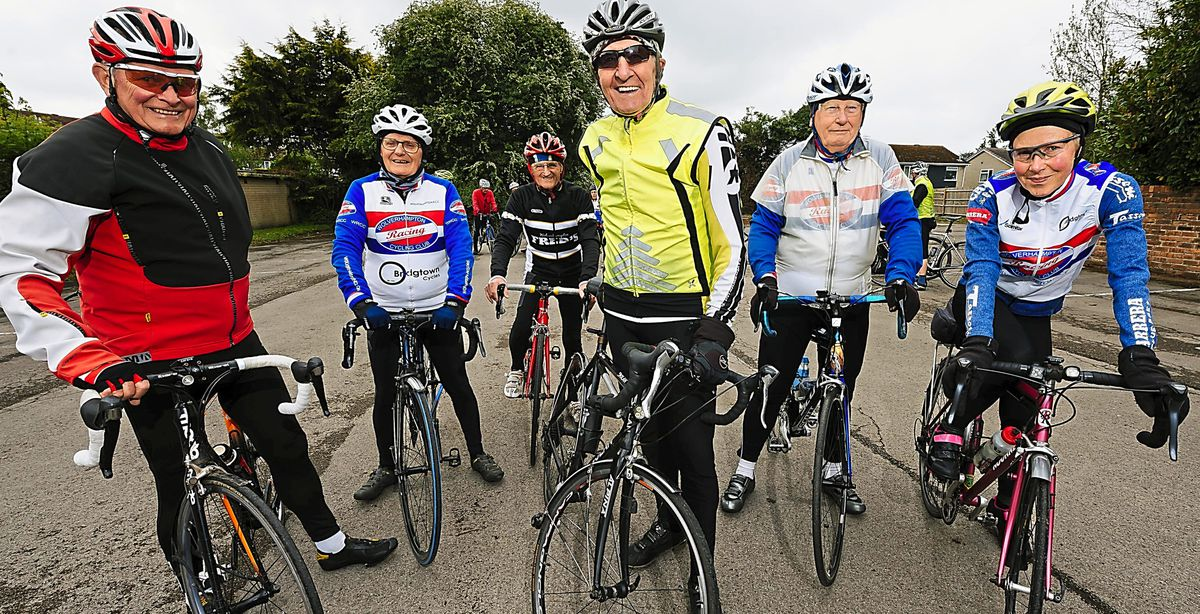 Jim Kempt, Roger Eden, Dave Smith, Hugh Porter, Gilbert Parkes and Katy Wright take on this year's altered Round the Wrekin Sportif