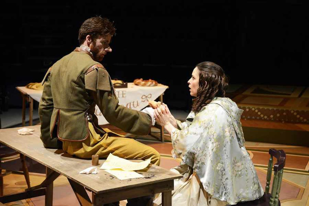 Cyrano, New Vic Theatre, Newcastle-under- Lyme - review and pictures