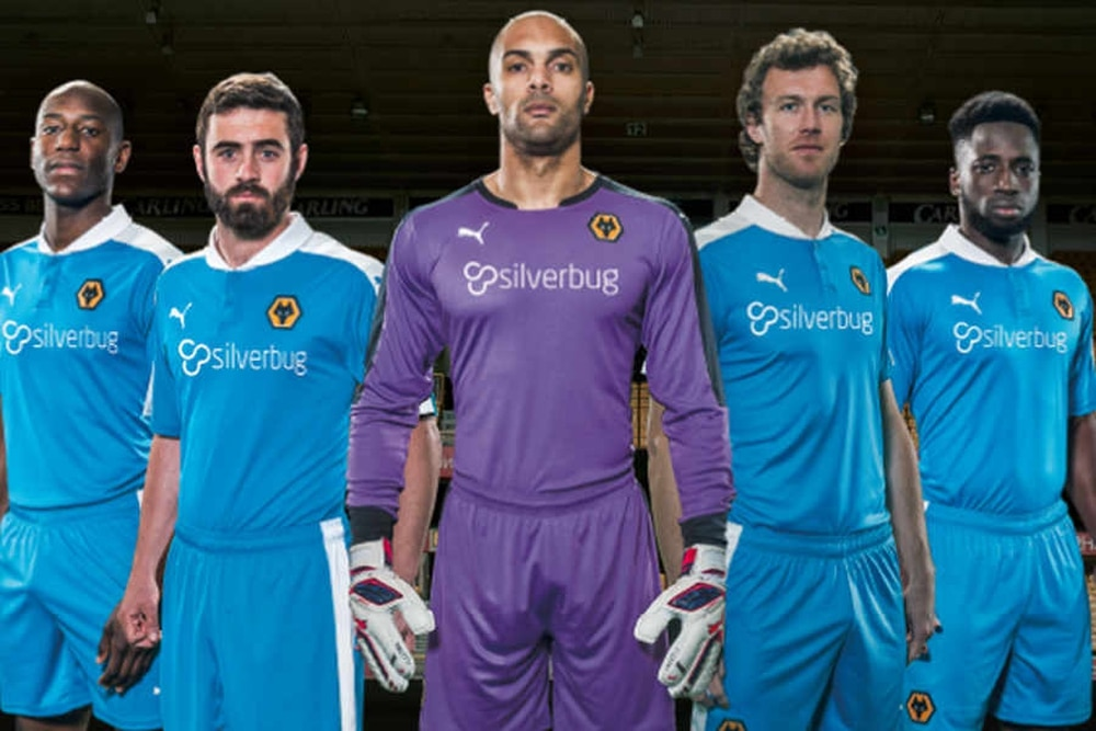 Wolves take the wraps off their new away kit  e750d93bb