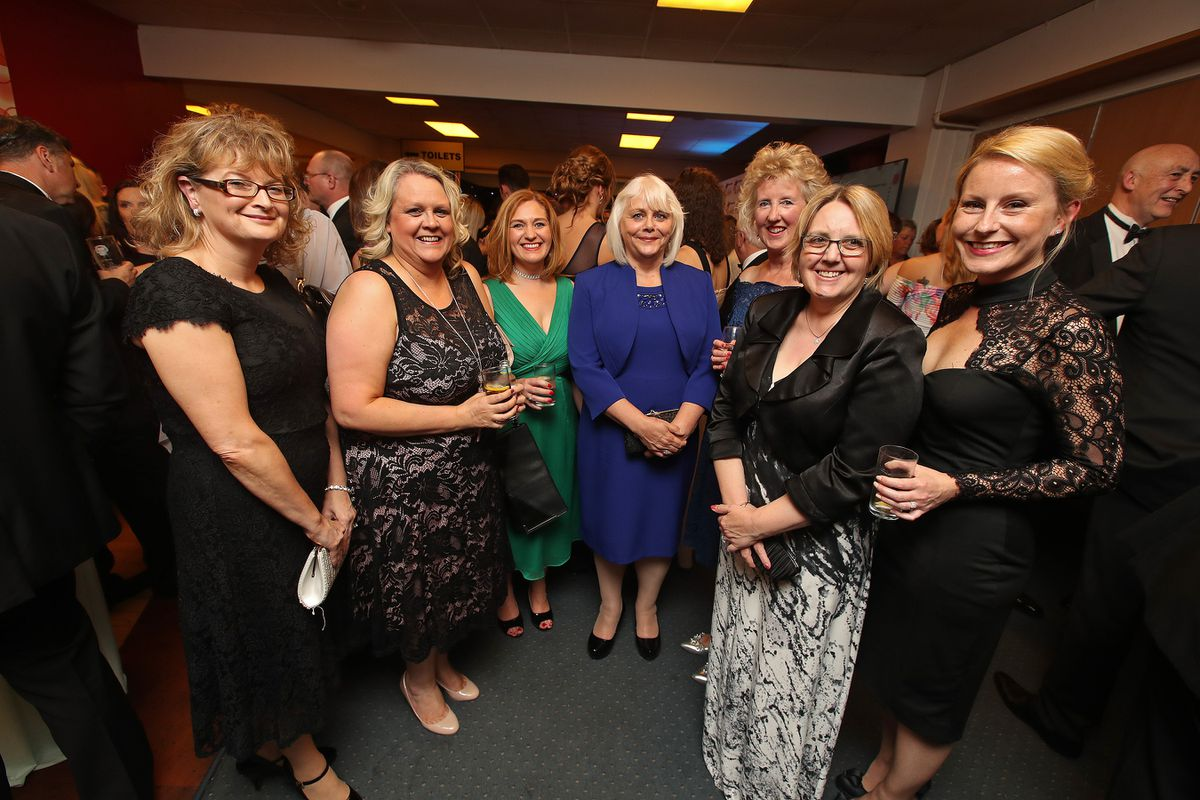 Tracy Worthington, Jo Addinell, Bev Jackson, June Chell, Jane Jordan, Kim Carr and Laura Jones